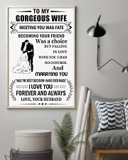 Make it the meaningful message to your wife 24x36 Poster lifestyle-poster-1