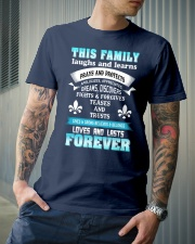 Make it the meaningful message to your family Classic T-Shirt lifestyle-mens-crewneck-front-6