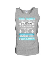 Make it the meaningful message to your family Unisex Tank thumbnail