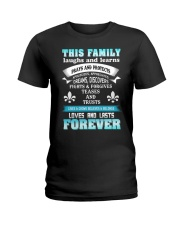 Make it the meaningful message to your family Ladies T-Shirt thumbnail