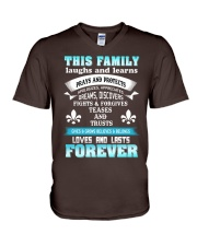 Make it the meaningful message to your family V-Neck T-Shirt thumbnail