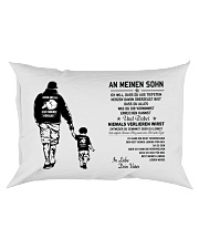 Make it the meaningful message to your son Rectangular Pillowcase front