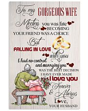 H14 Family poster - Husband to wife - I love you 11x17 Poster front