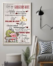 H14 Family poster - Husband to wife - I love you 11x17 Poster lifestyle-poster-1