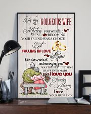 H14 Family poster - Husband to wife - I love you 11x17 Poster lifestyle-poster-2