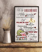 H14 Family poster - Husband to wife - I love you 11x17 Poster lifestyle-poster-3