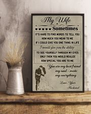 Make it the meaningful message to your wife 11x17 Poster lifestyle-poster-3