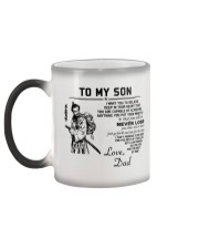 Make it the meaningful message to your son Color Changing Mug color-changing-left