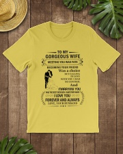 Make it the meaningful message to your Wife Premium Fit Mens Tee lifestyle-mens-crewneck-front-18