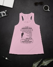 Make it the meaningful message to your Wife Ladies Flowy Tank lifestyle-bellaflowy-tank-front-4