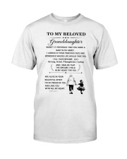 the meaningful message to your granddaughter Premium Fit Mens Tee thumbnail
