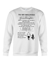 the meaningful message to your granddaughter Crewneck Sweatshirt thumbnail