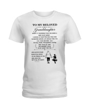 the meaningful message to your granddaughter Ladies T-Shirt thumbnail