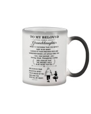 the meaningful message to your granddaughter Color Changing Mug thumbnail