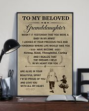 the meaningful message to your granddaughter 11x17 Poster lifestyle-poster-2