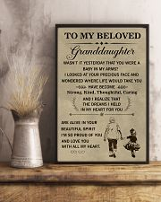 the meaningful message to your granddaughter 11x17 Poster lifestyle-poster-3