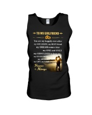 Make it the meaningful message to your girlfriend Unisex Tank thumbnail