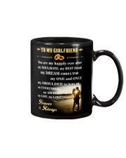 Make it the meaningful message to your girlfriend Mug thumbnail