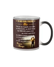 Make it the meaningful message to your girlfriend Color Changing Mug thumbnail