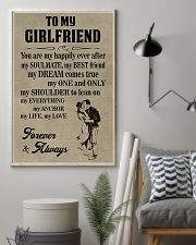 Make it the meaningful message to your girlfriend 11x17 Poster lifestyle-poster-1