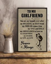 Make it the meaningful message to your girlfriend 11x17 Poster lifestyle-poster-3