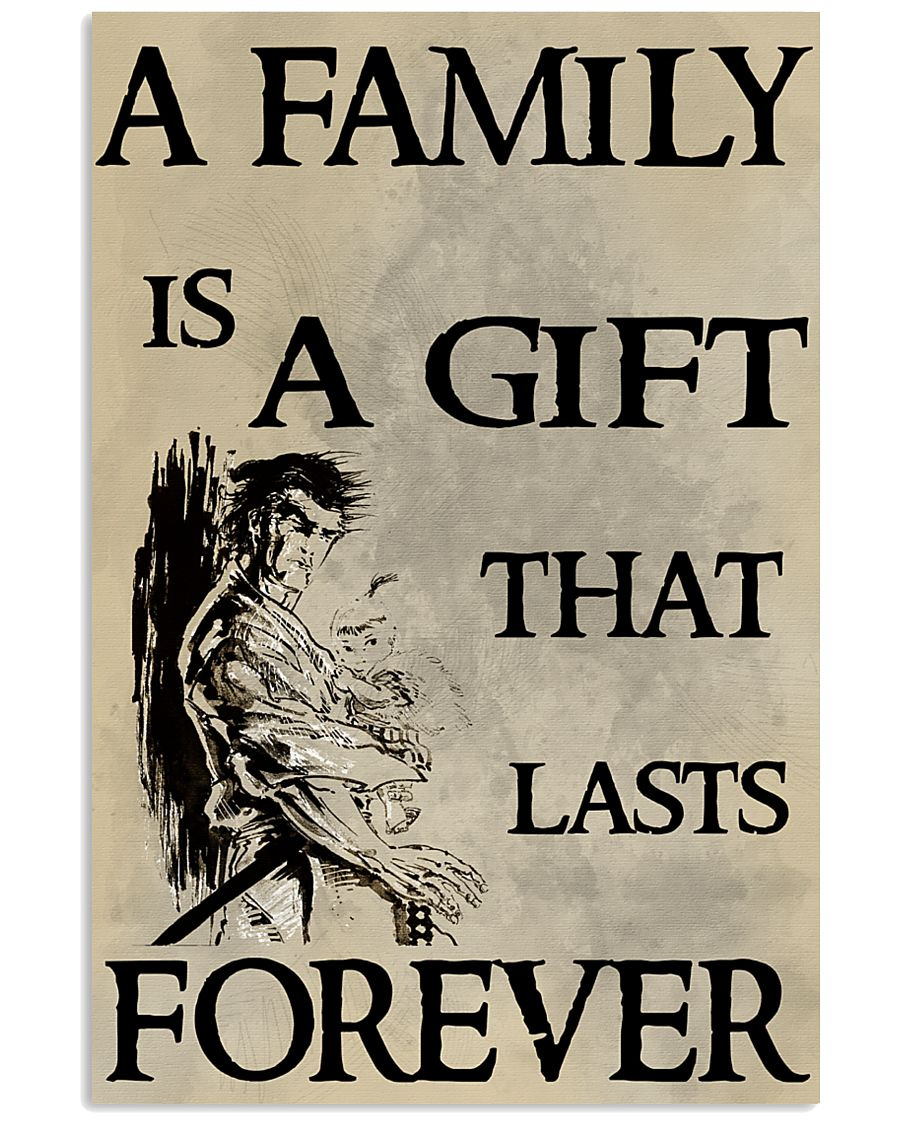 Make it the meaningful message to your family 16x24 Poster