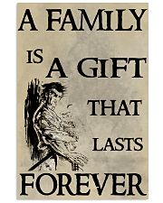 Make it the meaningful message to your family 16x24 Poster front