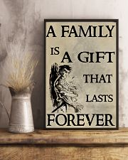 Make it the meaningful message to your family 16x24 Poster lifestyle-poster-3