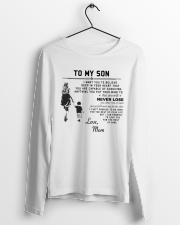 Make it the meaningful message to your son Long Sleeve Tee lifestyle-unisex-longsleeve-front-3