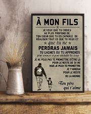 Make it the meaningful message to your son FR 11x17 Poster lifestyle-poster-3