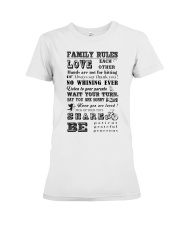 Make it the meaningful message to your family Premium Fit Ladies Tee thumbnail