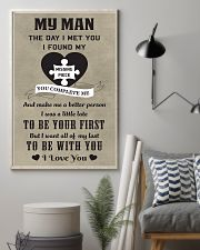 Make it the meaningful message to your man 11x17 Poster lifestyle-poster-1