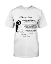 Make it the meaningful message to your wife DE Classic T-Shirt thumbnail