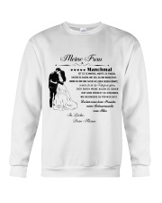 Make it the meaningful message to your wife DE Crewneck Sweatshirt thumbnail