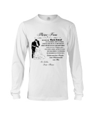 Make it the meaningful message to your wife DE Long Sleeve Tee thumbnail