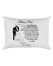 Make it the meaningful message to your wife DE Rectangular Pillowcase thumbnail
