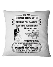 Make it the meaningful message to your Wife Square Pillowcase thumbnail
