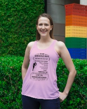 Make it the meaningful message to your Wife Ladies Flowy Tank lifestyle-bellaflowy-tank-front-2