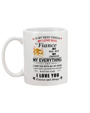 Make it the meaningful message to your best friend Mug back