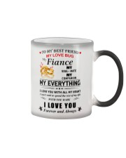 Make it the meaningful message to your best friend Color Changing Mug thumbnail