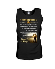 Make it the meaningful message to your boyfriend Unisex Tank thumbnail