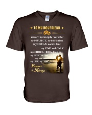 Make it the meaningful message to your boyfriend V-Neck T-Shirt thumbnail