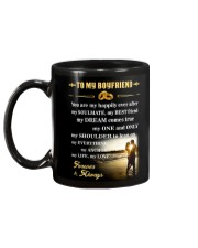Make it the meaningful message to your boyfriend Mug back