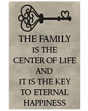 Make it the meaningful message to your family 11x17 Poster front