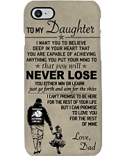 Make it the meaningful message to your daughter Phone Case thumbnail