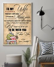 H13 Family poster - Husband to wife - I love you 11x17 Poster lifestyle-poster-1
