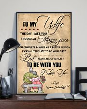 H13 Family poster - Husband to wife - I love you 11x17 Poster lifestyle-poster-2