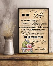 H13 Family poster - Husband to wife - I love you 11x17 Poster lifestyle-poster-3