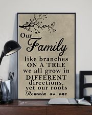 Make it the meaningful message to your family 11x17 Poster lifestyle-poster-2