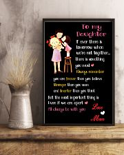 Make it the meaningful message to your daughter 24x36 Poster lifestyle-poster-3